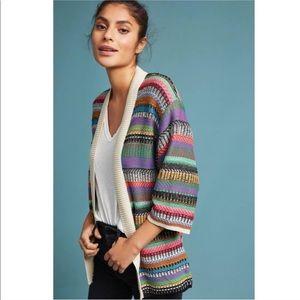 New MAEVE Anthro Ashbury Knit Cardigan